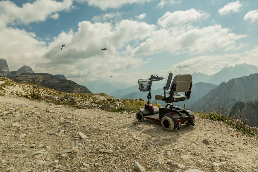 moto scooter de ortopedia
