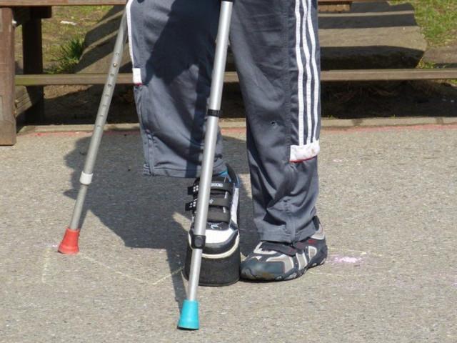 Muletas de ortopedia