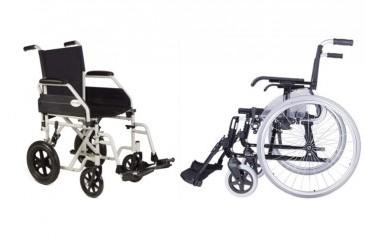 Alquiler sillas manuales